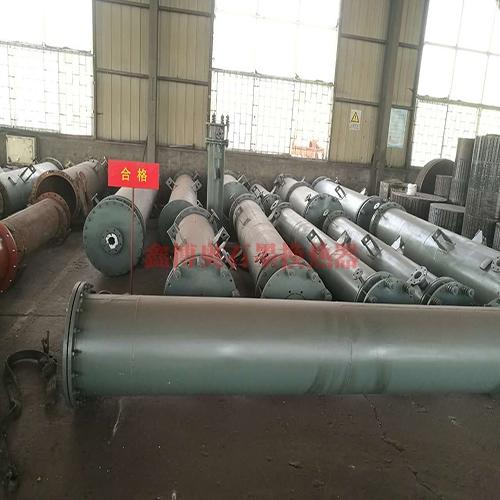 圆块孔式石墨换热器--YKB系列