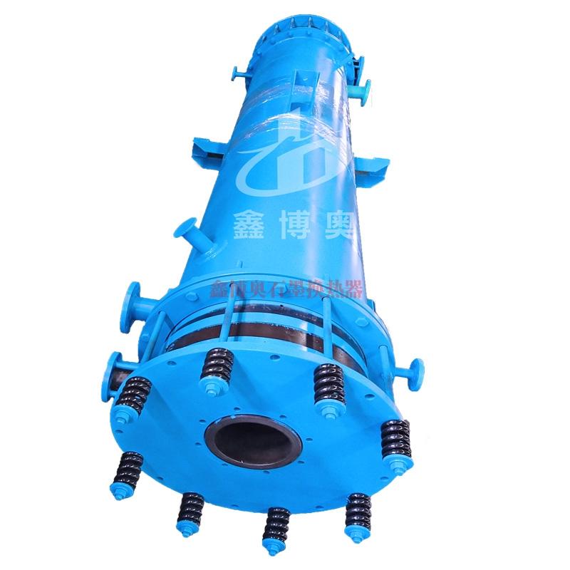 圆块孔式石墨降膜吸收器