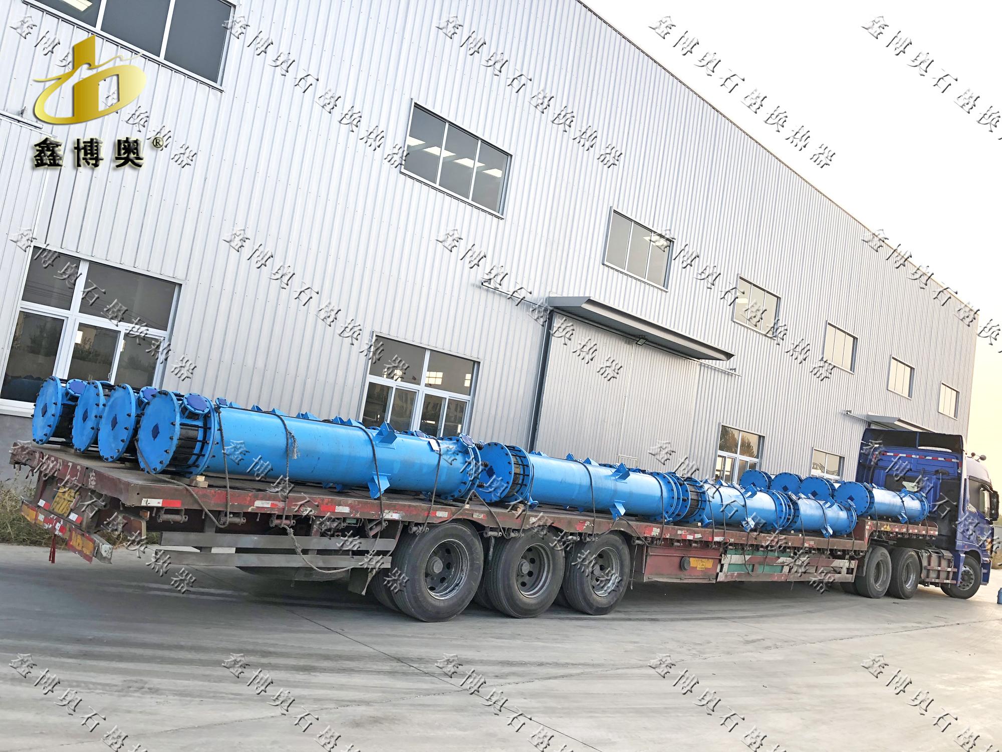 磷酸蒸发浓缩设备-鑫博奥石墨换热器